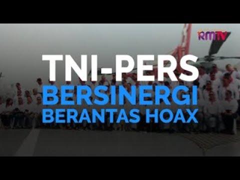 TNI-Pers Bersinergi Berantas Hoax