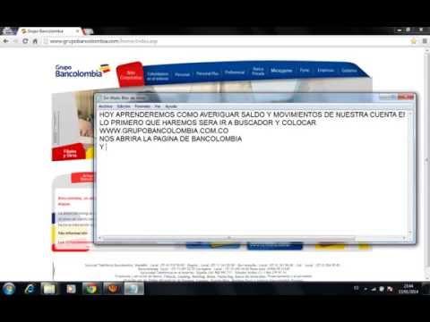 bancolombia sucursal virtual personas}