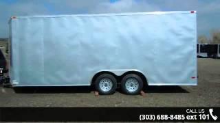7. 2014 Lark  8.5x20 Enclosed Cargo Trailer