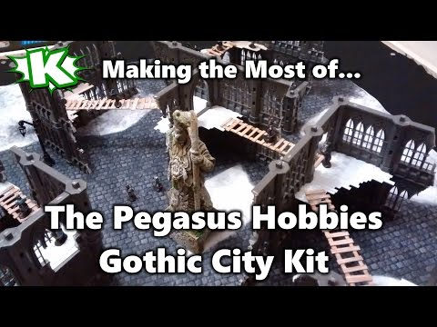 Pegasus Hobbies Gothic City Kit (Making the Most of...)