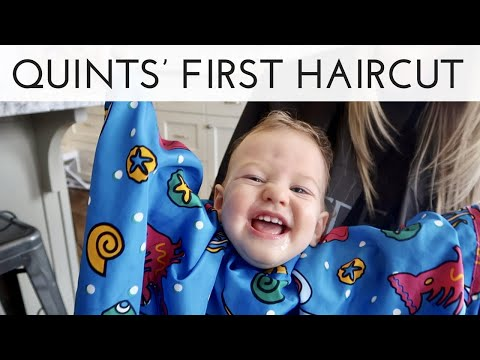 Quints' First Haircut! - Finishing The Nurseries - I Told You So
