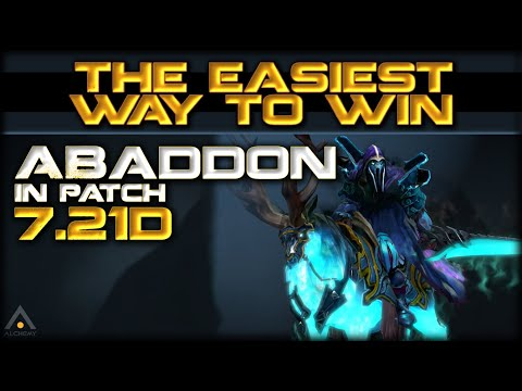 The Easiest Way to Win With ABADDON | Official Guide for  Patch 7.21d