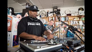 Video DJ Premier & The Badder Band: NPR Music Tiny Desk Concert MP3, 3GP, MP4, WEBM, AVI, FLV Desember 2018
