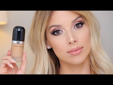 MARC JACOBS Remarcable foundation | REVIEW, SWATCHES, DEMO | LustreLux
