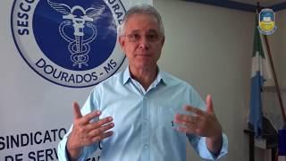 Sérgio Nogueira sobre a doação do IR ao Fundo Municipal dos Direitos da Criança e do Adolescente