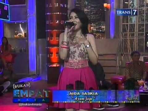 Aida Saskia - Ayam Jago @trans7 ©13.07.2012