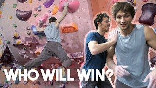 Emil getting crushed by KIDcrusher? by Eric Karlsson Bouldering