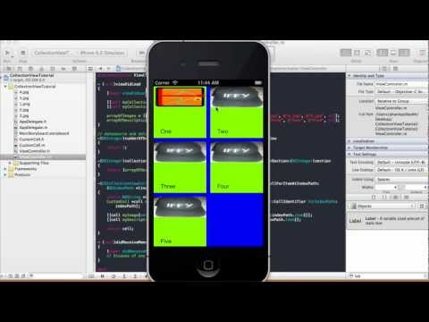 Collection View Tutorial - Xcode 4.5.1