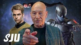 Star Trek Leads CBS & Viacom Merger   SJU by Clevver Movies