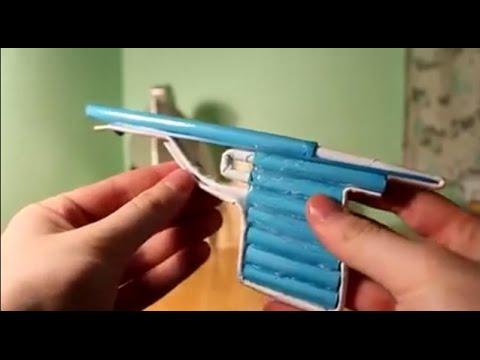 come costruire una pistola di carta che spara pallottole di carta