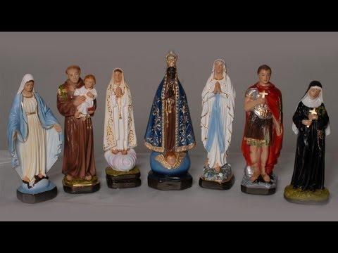 Imagens de Deus - O que a Igreja diz sobre o uso de imagens? - Web TV Cléofas