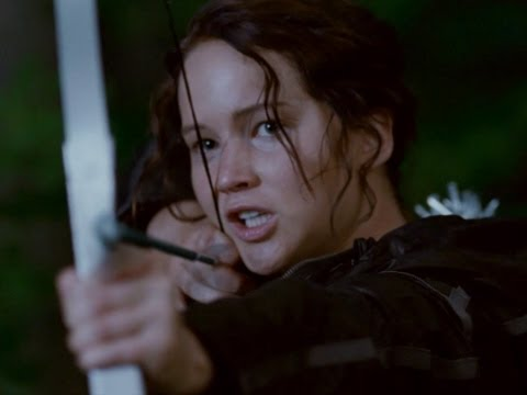 TheHungerGamesMovie - The New Hunger Games 2011 Official Trailer! This teaser trailer gives The Hunger Games fans a first look at the film that stars Jennifer Lawrence, Josh Hutch...