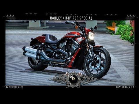 H-D Night Rod Special Test Ride