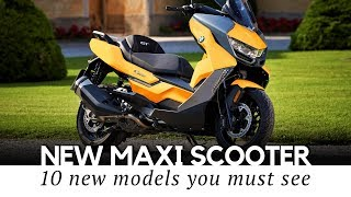 3. Top 10 Maxi Scooters with Motorbike Power and Comfort (Buying Guide for 2019)