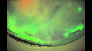 Bright Auroras Shine Through Clouds Over Sweden | Video