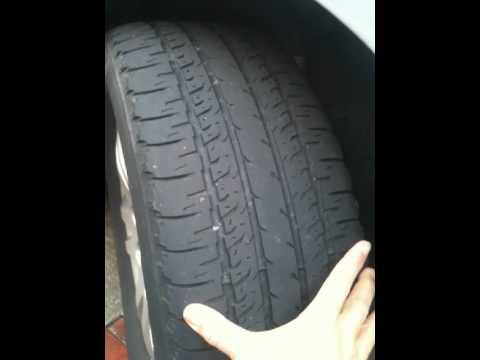how to gauge tire tread