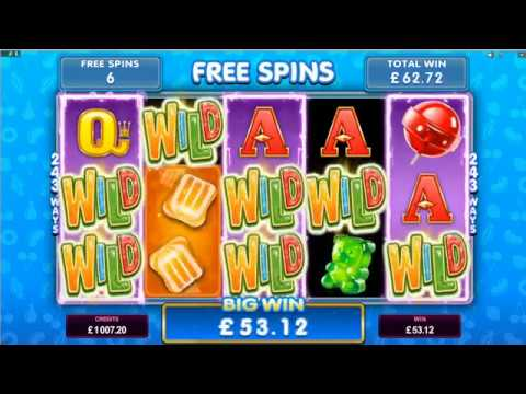 Fruit vs Candy Slot - Microgaming Promo