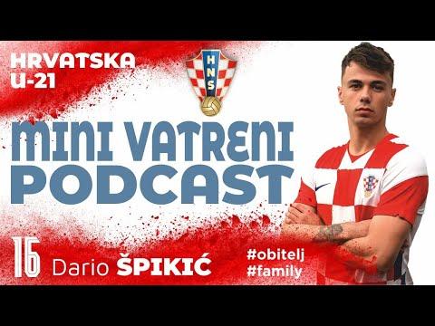 MINI VATRENI PODCAST: Dario Špikić