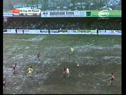 26/01/1985  York City V Arsenal