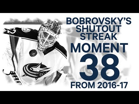 Video: No. 38/100: Bobrovsky on fire, posts 3rd straight shutout