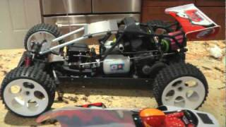 FG BAJA 4WD RTR BEFORE&AFTER VICTORY RC PIPE (Silenced)