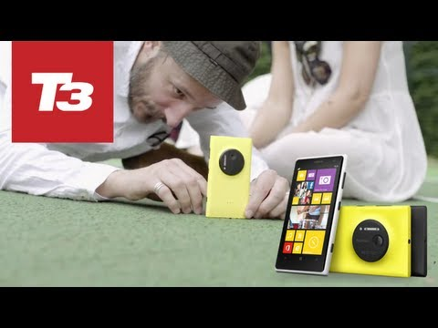 Nokia Lumia 1020 news video