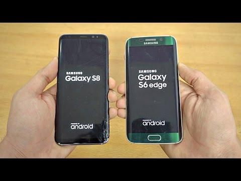 Samsung Galaxy S8 vs Galaxy S6 Edge - Speed Test! (4K)