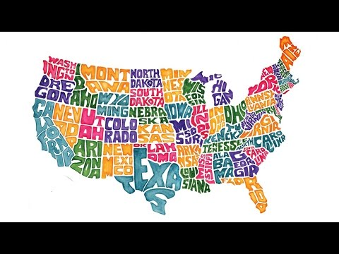 United States - If someone asked you to draw a map of the US without googling, could you? Buy some awesomeness for yourself! http://www.forhumanpeoples.com/collections/sourcefed Our Sources: ...