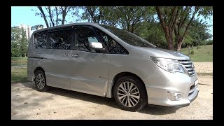 2014 Nissan Serena S-Hybrid Highway Star Start-Up and Full Vehicle Tour