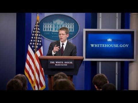 3/26/13: White House Press Briefing
