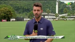 O Peixe se reapresentou nesta quarta-feira com seus cinco novos reforços e o meia Renato falou sobre as metas do time para a temporada 2017.