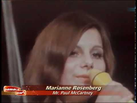 Tekst piosenki Marianne Rosenberg - Mrs Paul Mc.Cartney po polsku