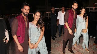 Adorable Couple Shahid Kapoor And Mira Rajput Celebrate Diwali Together