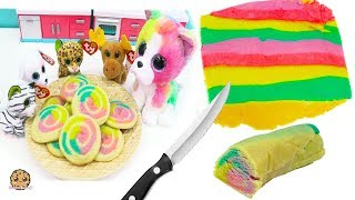 Video Rainbow Swirl Sugar Cookies  with Beanie Boo's - Cookie Swirl C Cooking Video MP3, 3GP, MP4, WEBM, AVI, FLV Januari 2019