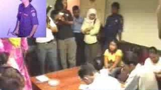 Massage Parlour Raid At Puchong - 28 Jun 07