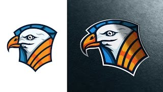 In this Real Time video you will see how I make a Bird Badge Logo inspired by an eagle - from sketch in photoshop to vector in Illustrator. Download the file...