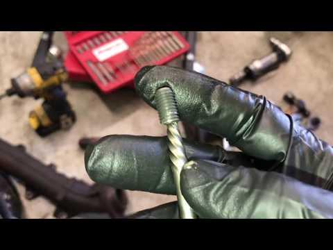 Extracting a Broken Manifold Bolt
