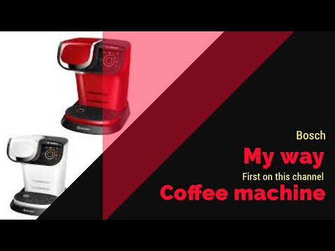 Bosch Tassimo My Way coffee machine