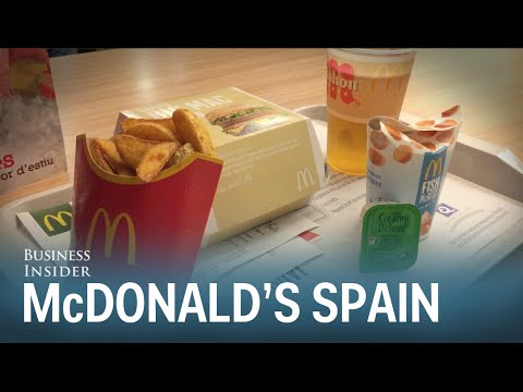 McDonald  s In Spain Looks Much Better Than Ours