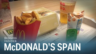 McDonalds In Spain Is So Much Better Than In America