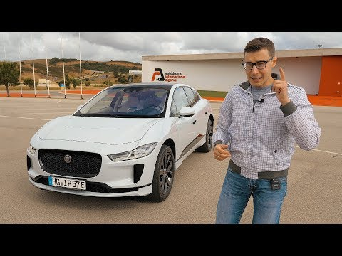 Наконец-то достойный ответ Тесле! Электрический Jaguar I-PACE. Тест-драйв и обзор онлайн видео