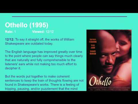 Movie Review: Othello (1995) [HD]