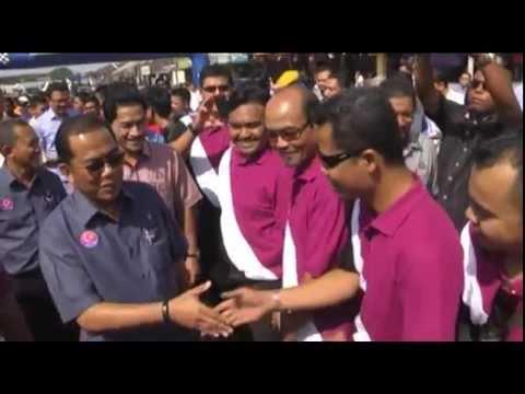 Lawatan Kerja Menteri Besar Johor ke Kluang