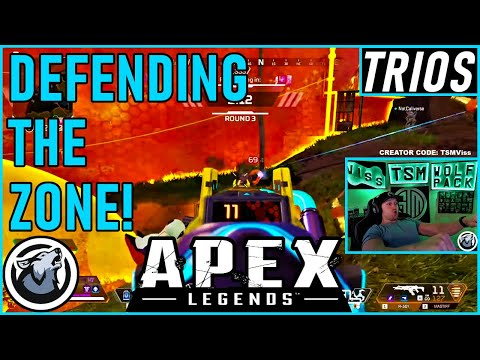 DEFENDING THE ZONE! VISS w/ TannerSlays and Caliverse APEX SEASON 5