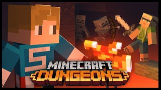 MINECRAFT DUNGEONS PLAYTHROUGH!   Redstone Mines, Soggy Swamp, Cacti Canyon, Desert Temple + MORE!!