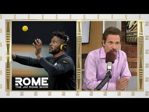 Video: Antonio Brown Post Bizarre Workout Video | The Jim Rome Show