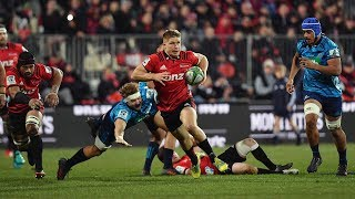Crusaders v Blues Rd.19 2018 Super rugby video highlights| Super Rugby Video    Highlights