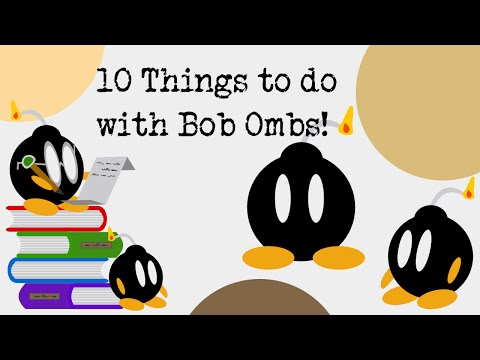 Ten Tips, Tricks and Ideas with Bob-Ombs in Super Mario Maker