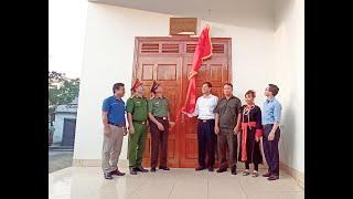 Khánh thành nhà tình nghĩa cho nguyên phó trưởng công an xã Thượng Yên Công