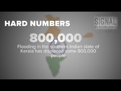 Hard numbers: India flooding, North & South Korea rail links